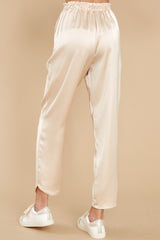 3 Go Glam Champagne Pants at reddress.com