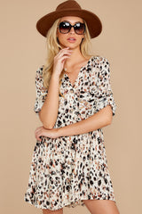 7 Don't Ask Me To Change Leopard Print Dress at reddressboutique.com