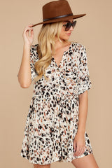 8  Don't Ask Me To Change Leopard Print Dress at reddressboutique.com