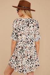 9 Don't Ask Me To Change Leopard Print Dress at reddressboutique.com