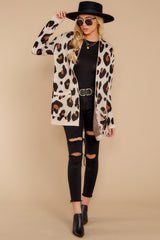 3 Her Feisty Side Leopard Print Cardigan @ reddress.com