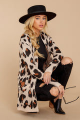 4 Her Feisty Side Leopard Print Cardigan @ reddress.com