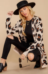 1 Her Feisty Side Leopard Print Cardigan @ reddress.com