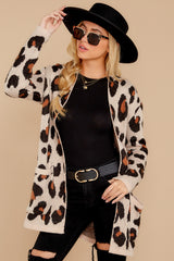 6 Her Feisty Side Leopard Print Cardigan @ reddress.com