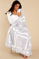 3 CozyChic® Oyster And Pearl Covered In Prayer® Throw at reddress.com