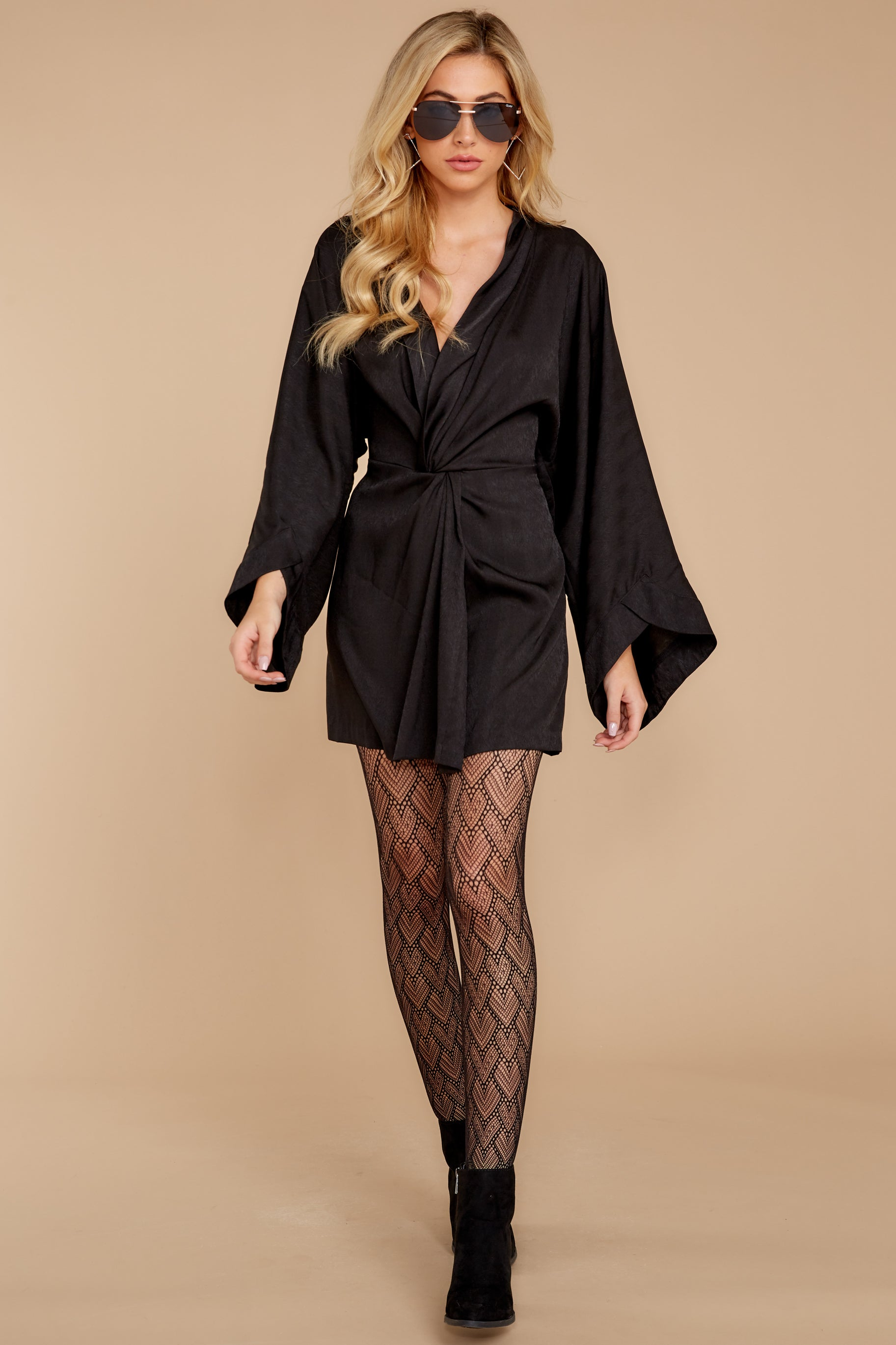 4 Till I Walk In Black Dress at reddressboutique.com
