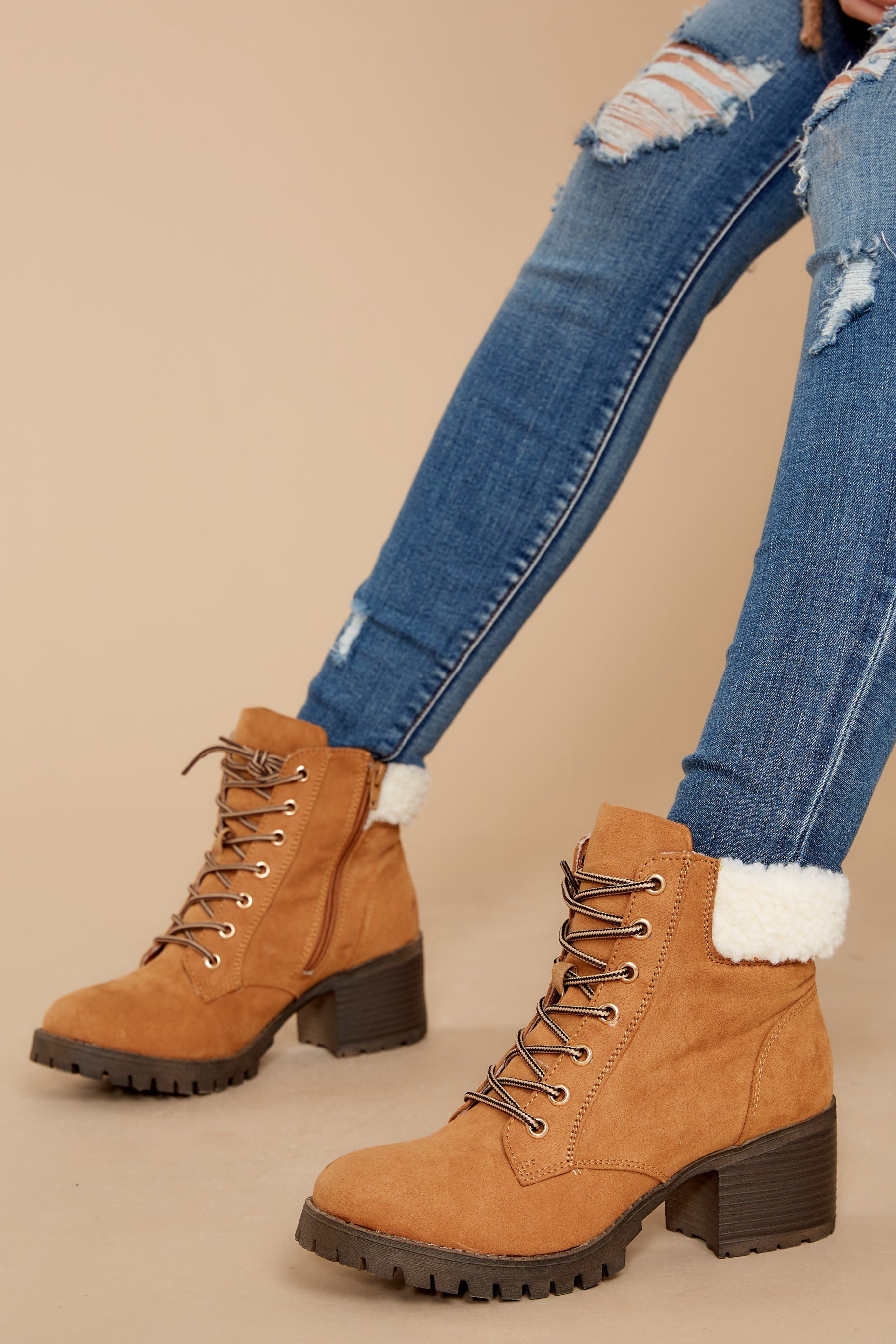 1 Without Limits Tan Boots at reddress.com