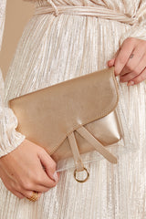 1 Everyone Will Know Gold And Clear Purse at reddressboutique.com
