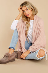 2 Kinsey Silver Pink Feather Wrap at reddress.com