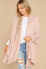 3 Kinsey Silver Pink Feather Wrap at reddress.com