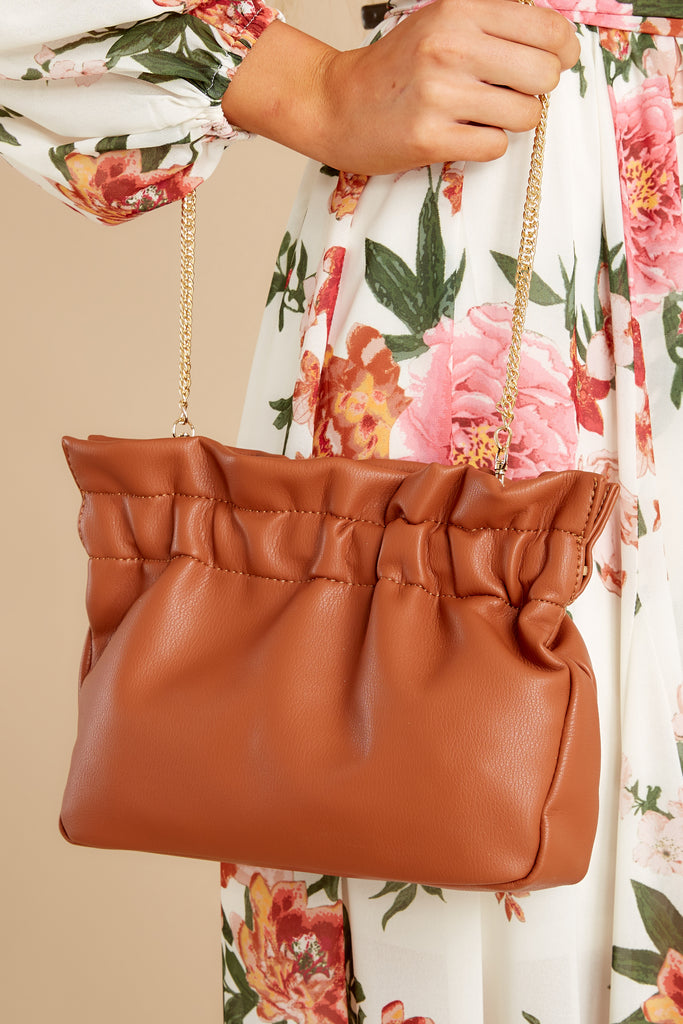 1 Polished And Poised Chestnut Bag at reddress.com