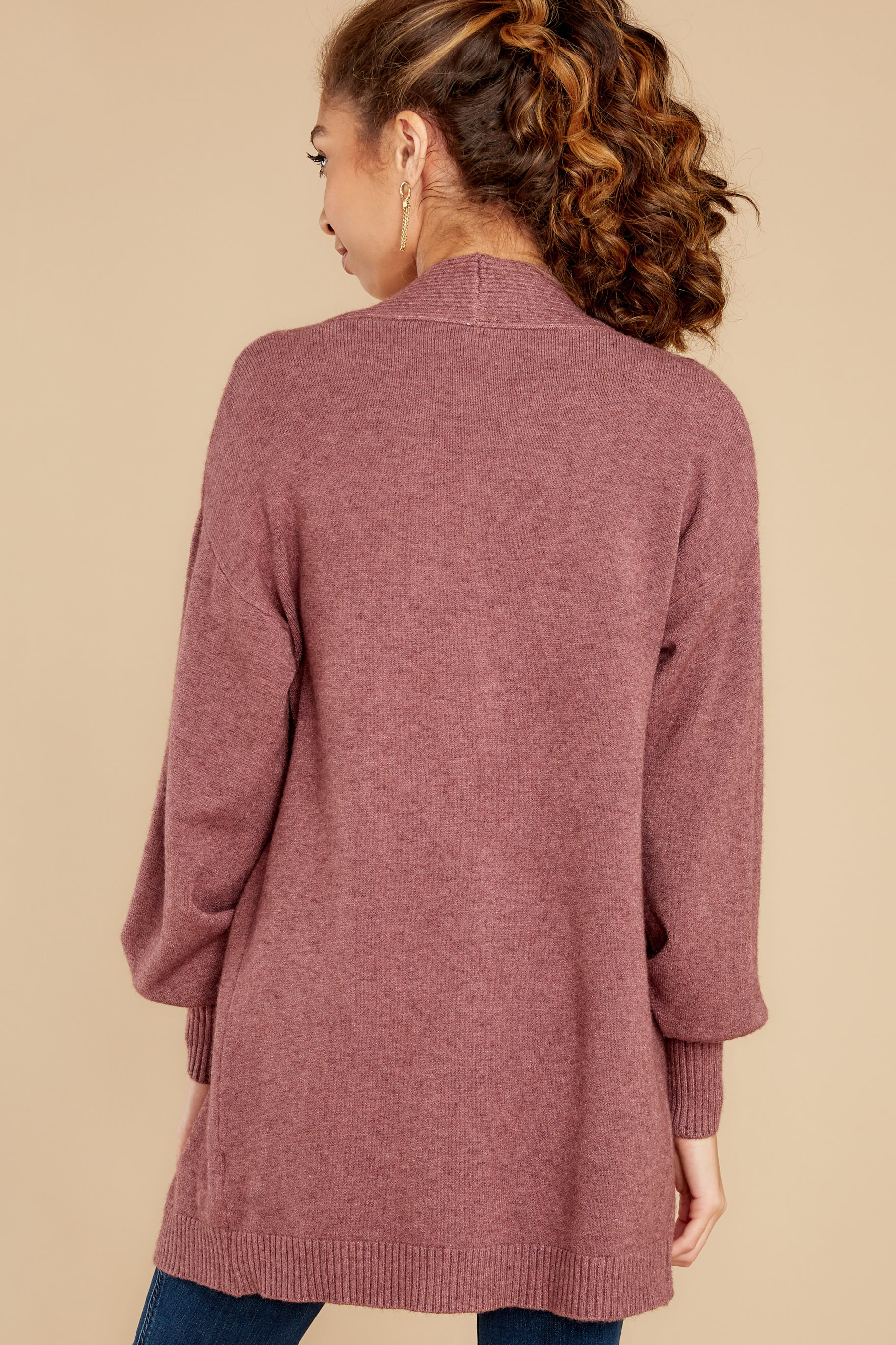 9 Closely Watching Raspberry Cardigan at reddress.com