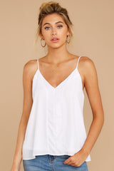 1 Wherever You Are White Tank Top at reddress.com