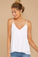 3 Wherever You Are White Tank Top at reddress.com