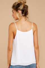 5 Wherever You Are White Tank Top at reddress.com