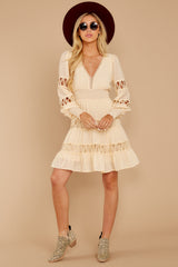 Of Romance And Lace Cream Dress