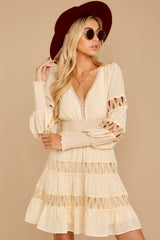 7 Of Romance And Lace Cream Dress at reddressboutique.com