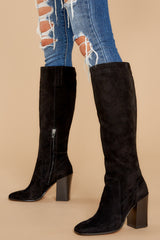 5 Kasidy Black Boots at reddress.com