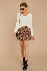 2 As Cool As You Ivory Sweater at reddressboutique.com