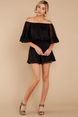 1 A Little Diddy Black Romper at reddressboutique.com