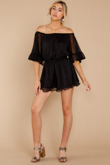 2 A Little Diddy Black Romper at reddressboutique.com
