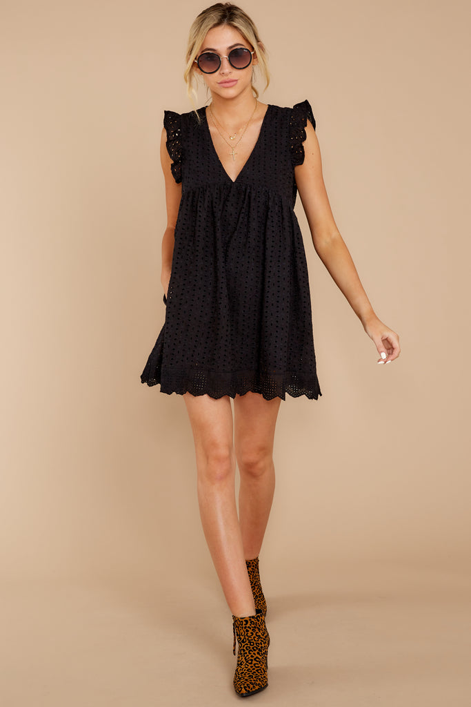 1 Surefire Style Black Romper at reddressboutique.com
