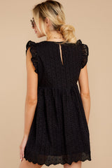 9 Keep A Secret Black Romper at reddressboutique.com