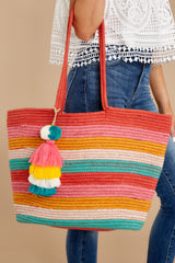 3 What A World Rainbow Tote at reddress.com