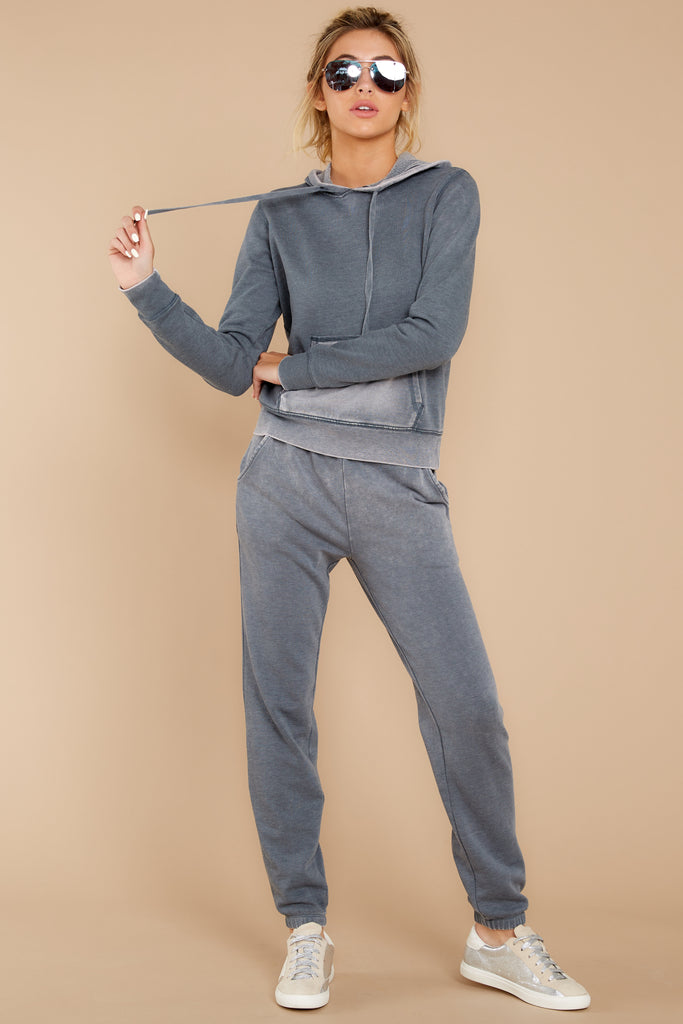 1 CozyChic Ultra Lite® Blue Water Pullover Hoodie at reddressboutique.com