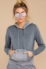 4 The Storm Grey Faded Wash Pullover Hoodie at reddressboutique.com