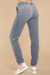 2 The Storm Grey Faded Wash Joggers at reddressboutique.com