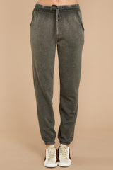 2 The Rosin Faded Wash Jogger at reddressboutique.com