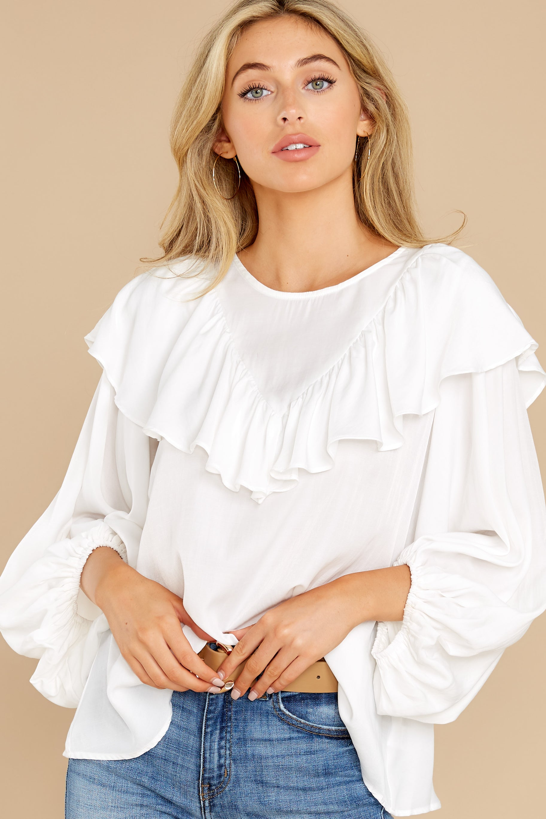 80s Tops, Shirts, T-shirts, Blouse Losing Time White Top $36.00 AT vintagedancer.com