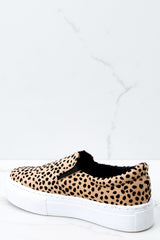 3 Shift The Ground Cheetah Slip On Sneakers at reddressboutique.com