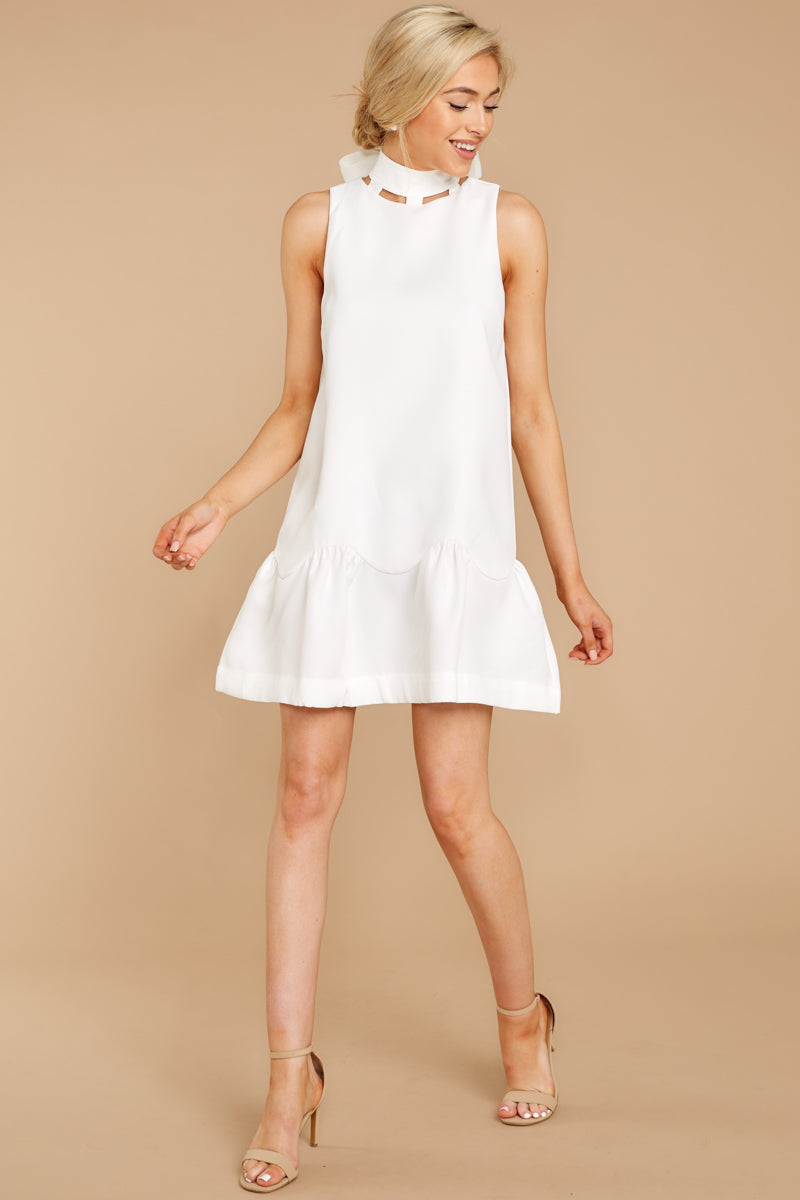 1 Whenever This Happens White Dress at reddressboutique.com
