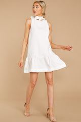 2 Whenever This Happens White Dress at reddressboutique.com