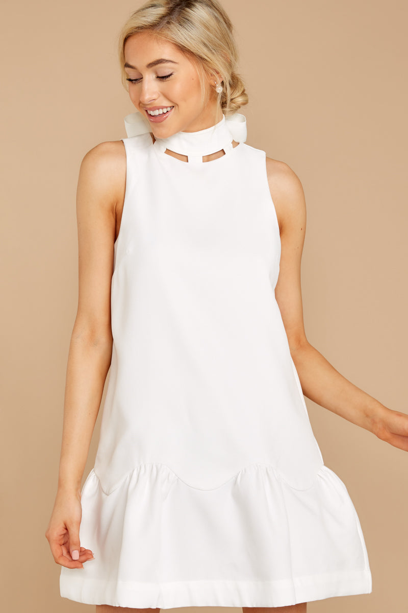 3 Whenever This Happens White Dress at reddressboutique.com