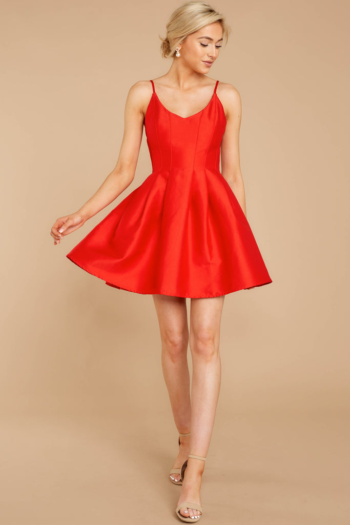 1 Must Be Dreaming Red Dress at reddressboutique.com