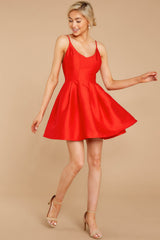 2 Baby It's A Classic Red Dress at reddressboutique.com