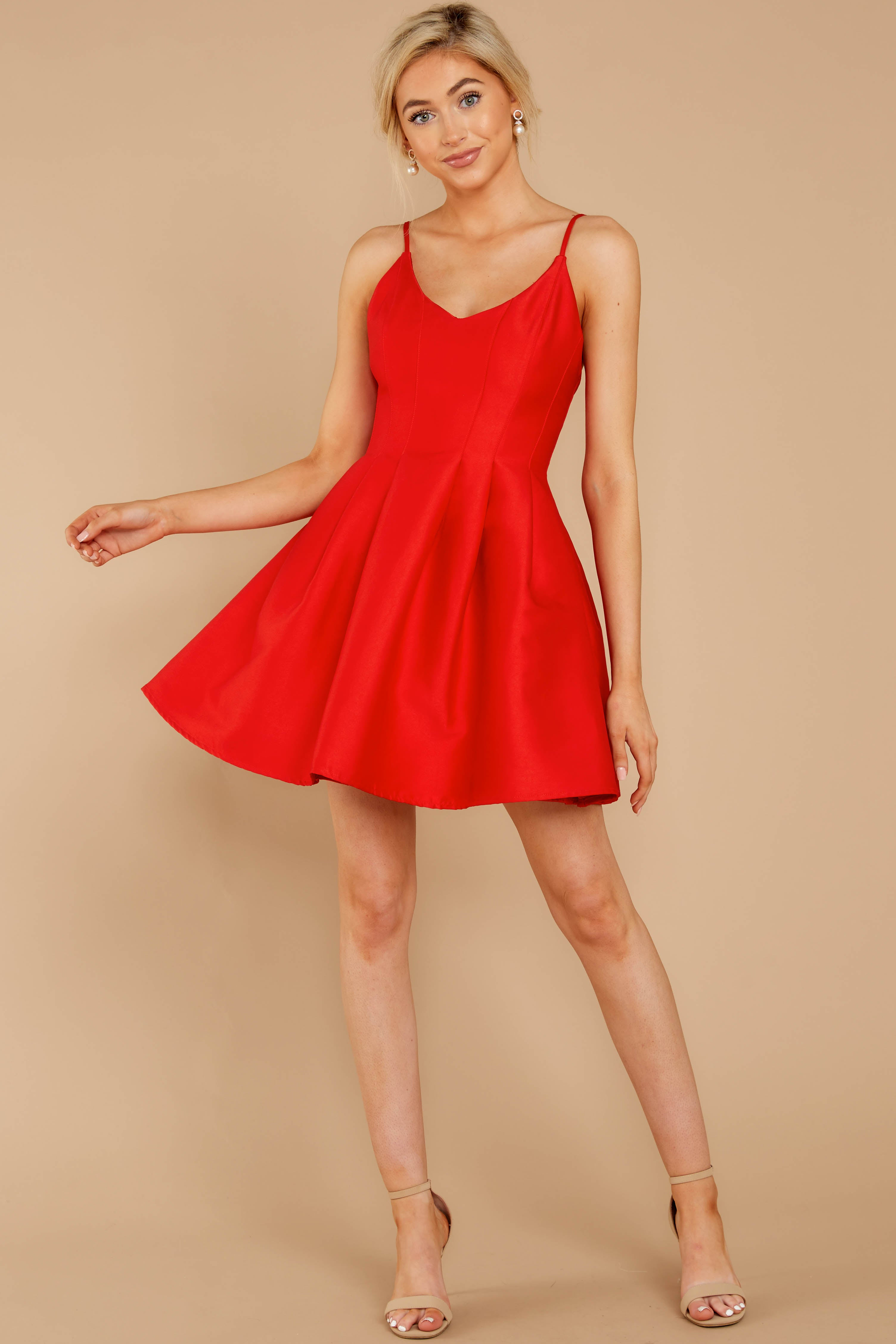 3 Baby It's A Classic Red Dress at reddressboutique.com