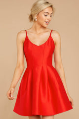 5 Baby It's A Classic Red Dress at reddressboutique.com