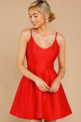 6 Baby It's A Classic Red Dress at reddressboutique.com