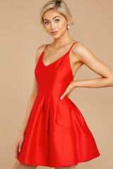 4 Baby It's A Classic Red Dress at reddressboutique.com