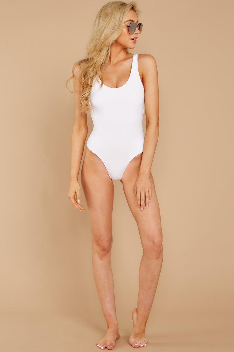 1 Feeling Salty White One Piece at reddressboutique.com