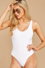 3 Feeling Salty White One Piece at reddressboutique.com