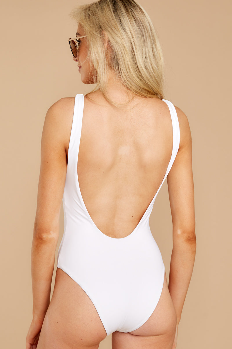 Feeling Salty White One Piece