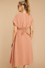 6 Well Balanced Light Clay Dress at reddressboutique.com