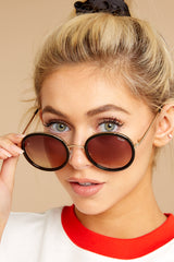3 Firefly Black Brown Sunglasses at reddressboutique.com