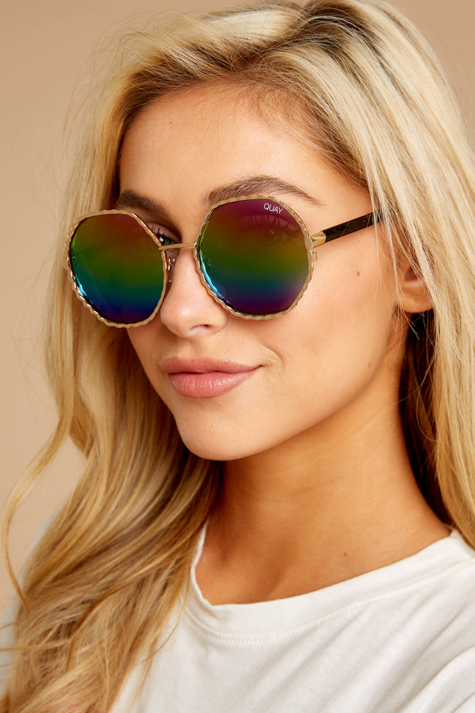 Outshine Rose Pink Sunglasses