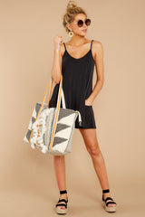 3 Every Time I Think About You Black Romper at reddressboutique.com